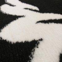 Dywan Soho 02 czarno-biały
