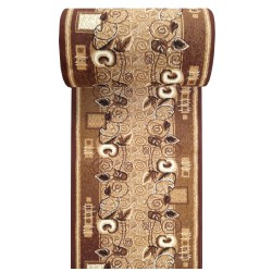 Dywan Chodnik BCF Alfa 11 - brązowy - 60 - 120cm